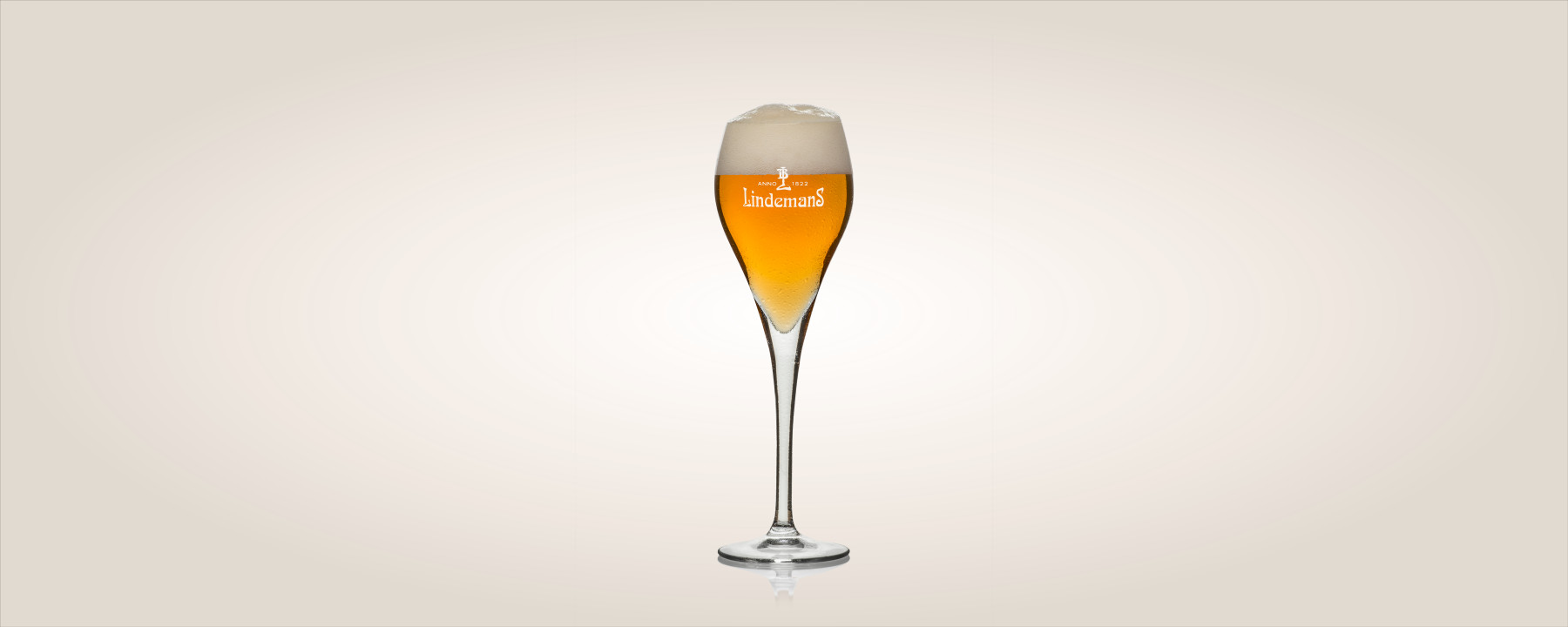 Gueuze in glass