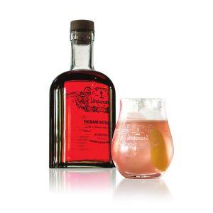 Lindemans Red Gin - Served